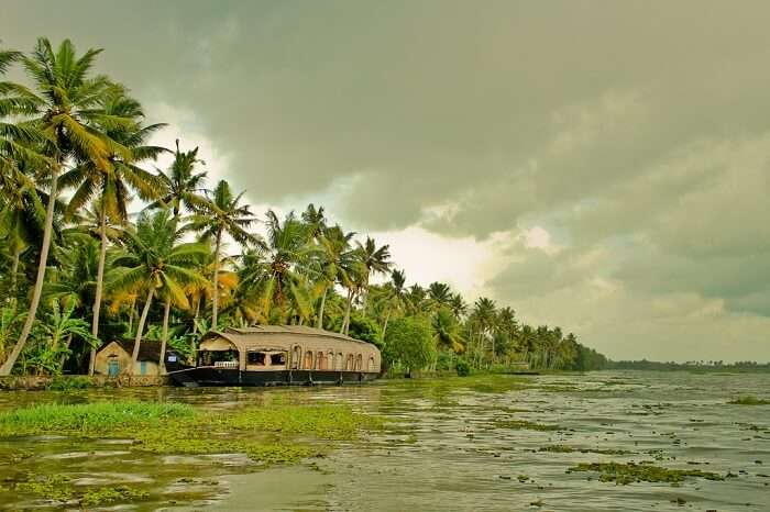 experience the houseboat in backwaters Kerala