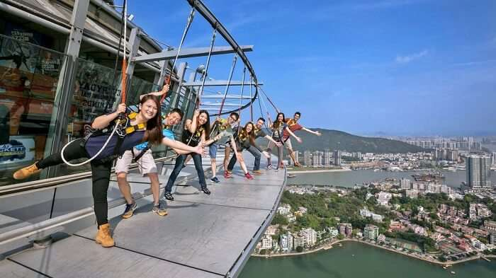 The Skywalk experience in Macau
