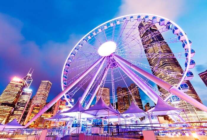 Observation Wheel Hong Kong