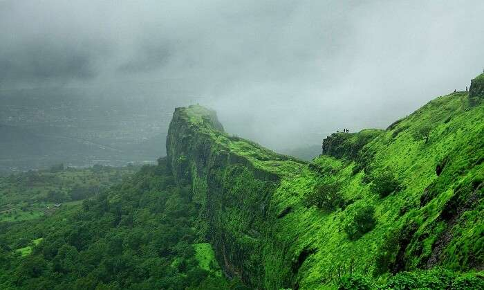 Mountains in Lonavala, Maharashtra