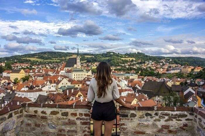 solo female traveler in Czech Republic