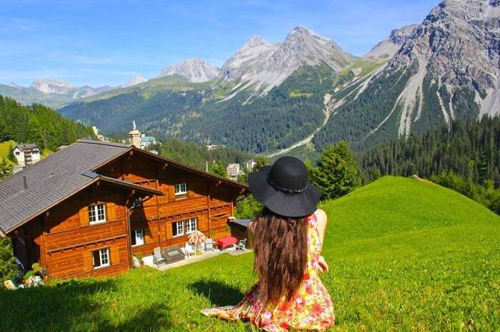 solo female traveler in Switzerland