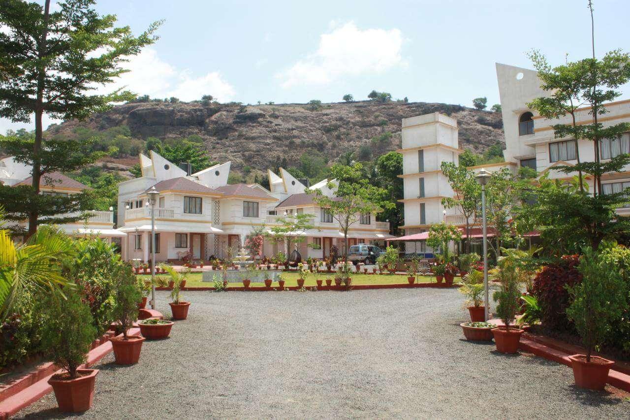 a resort in the hills of Lonavla