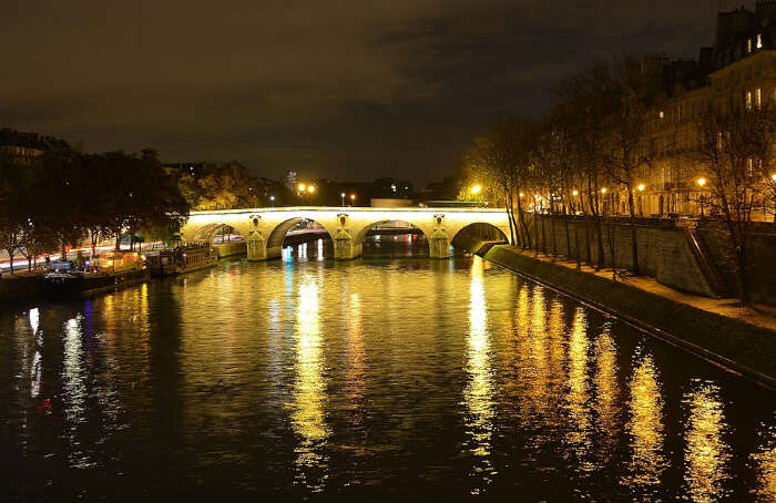 Banks of River Seine