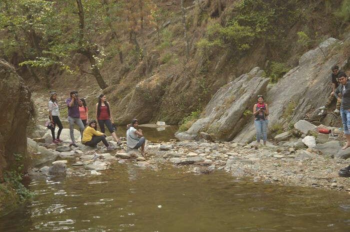 treks leading to riverside