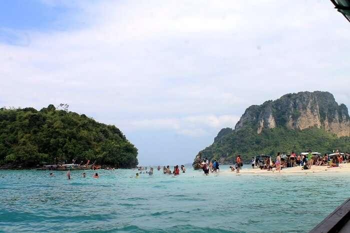 Chicken island tour krabi