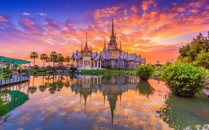 Wat Thai Temple in Bangkok