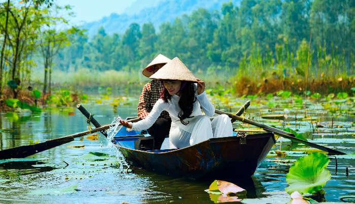 Romance in Hanoi
