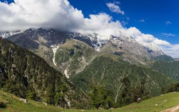 Himalaya's view from Dharamshala