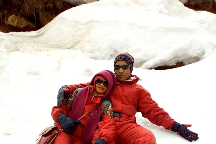 chilly conditions at solang valley