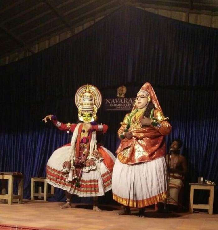 kathakali dance performance kerala
