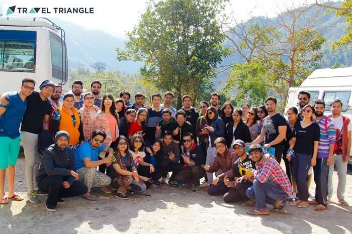 group trip to rishikesh