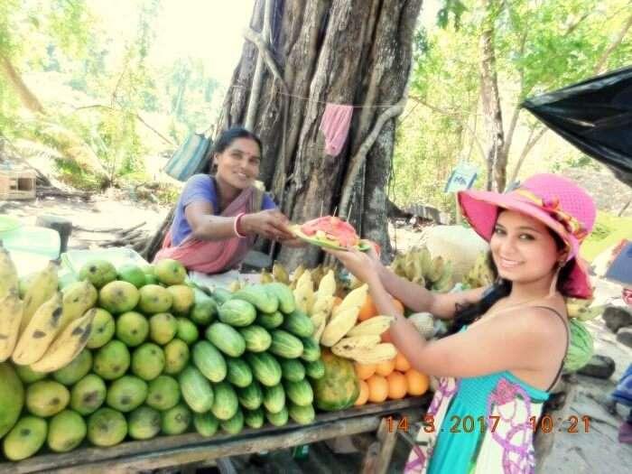 fruits market andaman