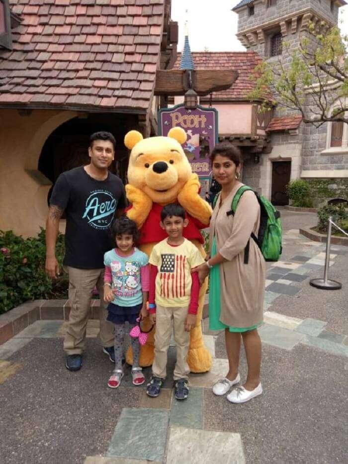 Disneyland in Hong Kong