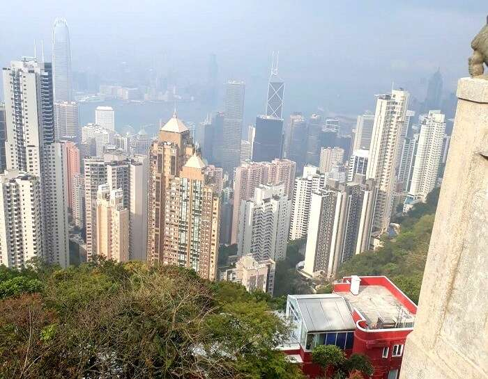 views from ocean park hong kong