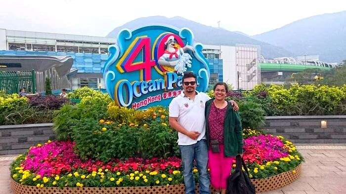 Ocean Park fun Hong Kong