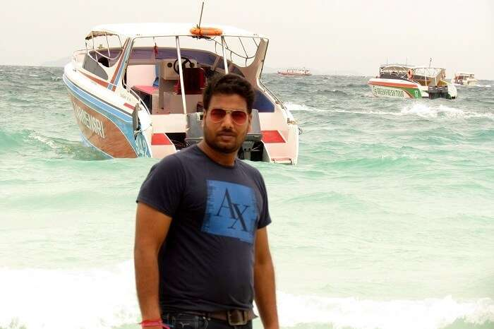 clicking pictures on koh larn island