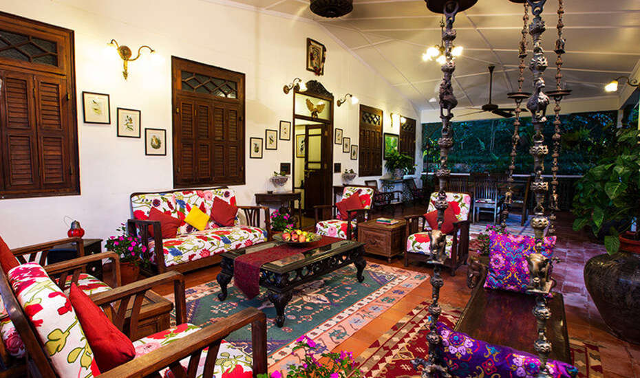 Shaheen Bagh resort colonial style interior