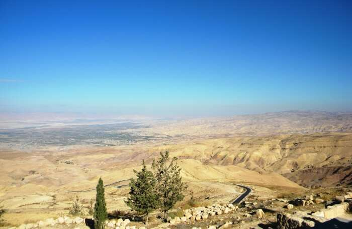 View of Mount Nebo
