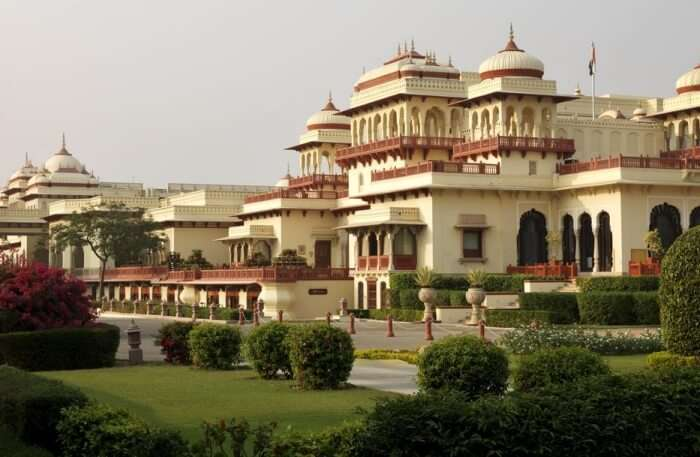 Rambagh Palace View