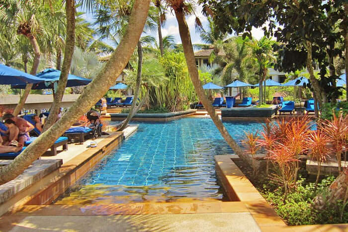 Romantic hotels in Phuket with private beach