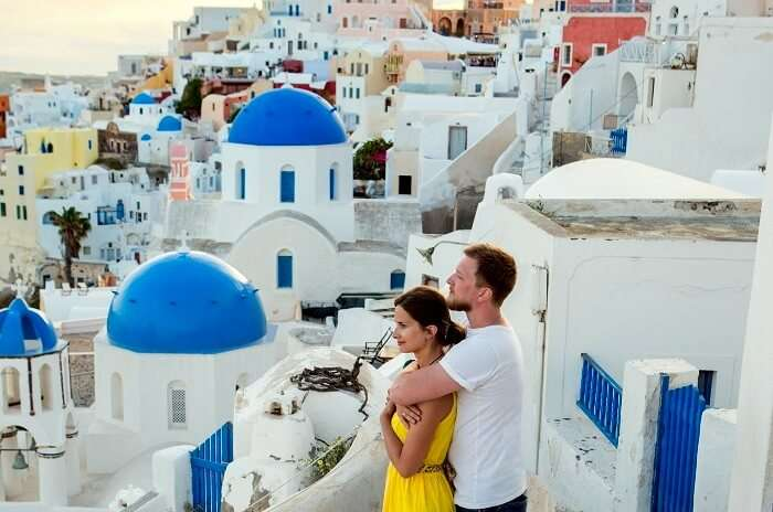 romantic islands in europe couple