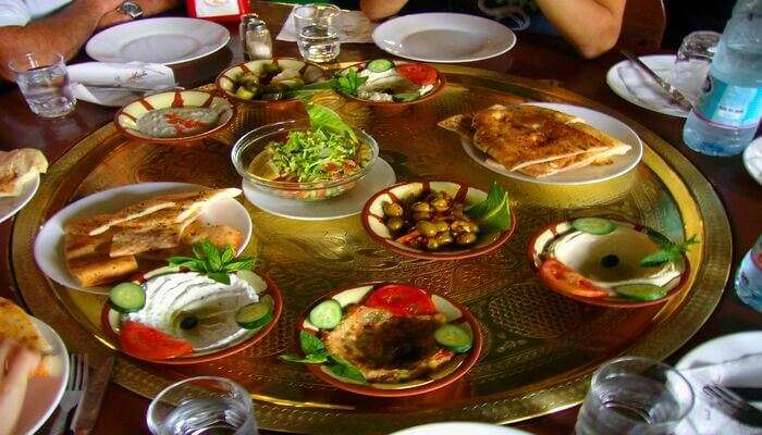 Taste the best of Jordanian food
