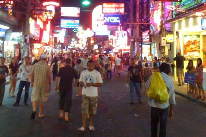 Walking Street of South Pattaya