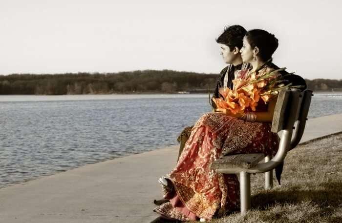 Couple Romancing