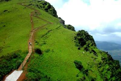Top view of a hill-station in Karnataka