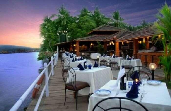 dinner at fishersman wharf goa