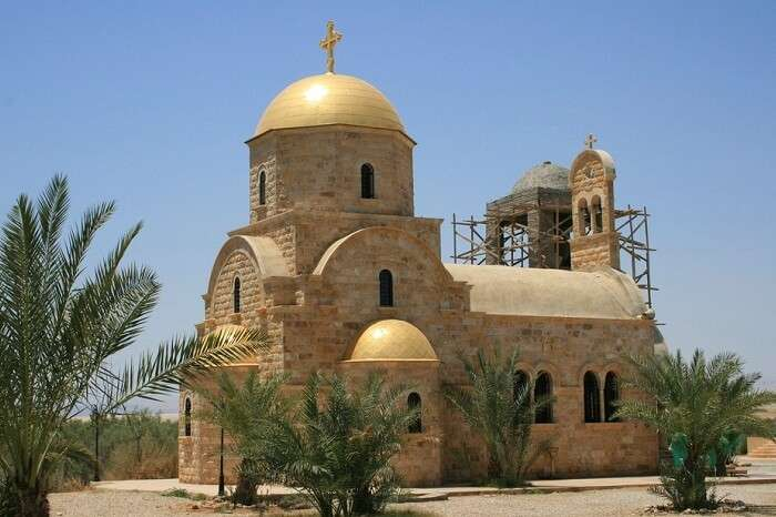 The famous church officially called the Bethany Beyond the Jordan