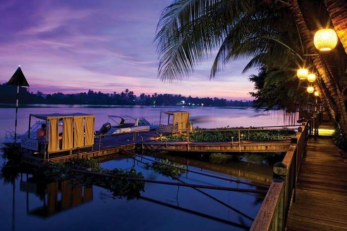 The beautiful riverfront at An Lam Saigon River