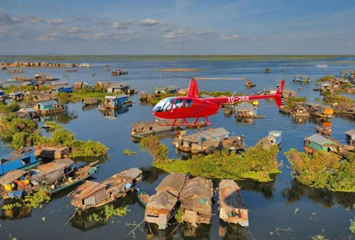 Floating Villages In Tonle Sap