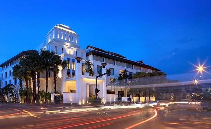A street view of Park Hyatt in Siem Reap