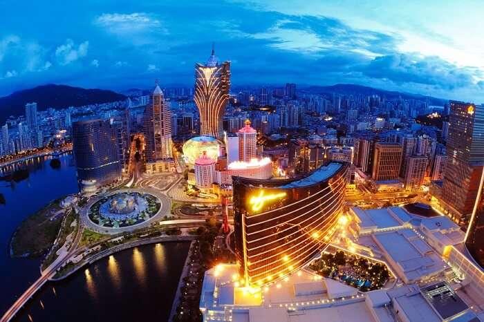 Macau Aerial View