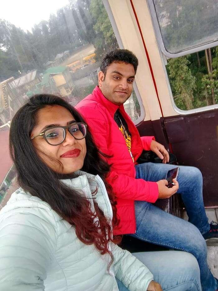 ropeway in darjeeling