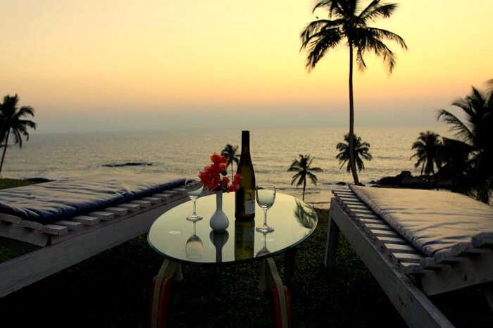 best romantic restaurants goa