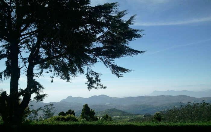 views from Doddabetta Peak