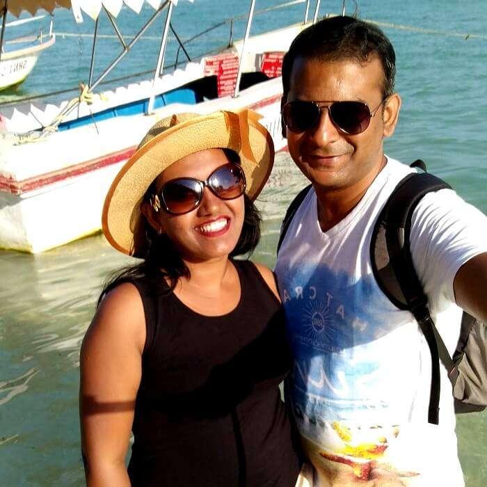 Couple at Neil Island, Andaman
