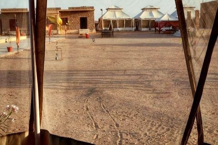 desert camp sites in jaisalmer