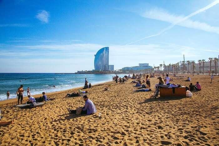 La Barceloneta Beach, Barcelona