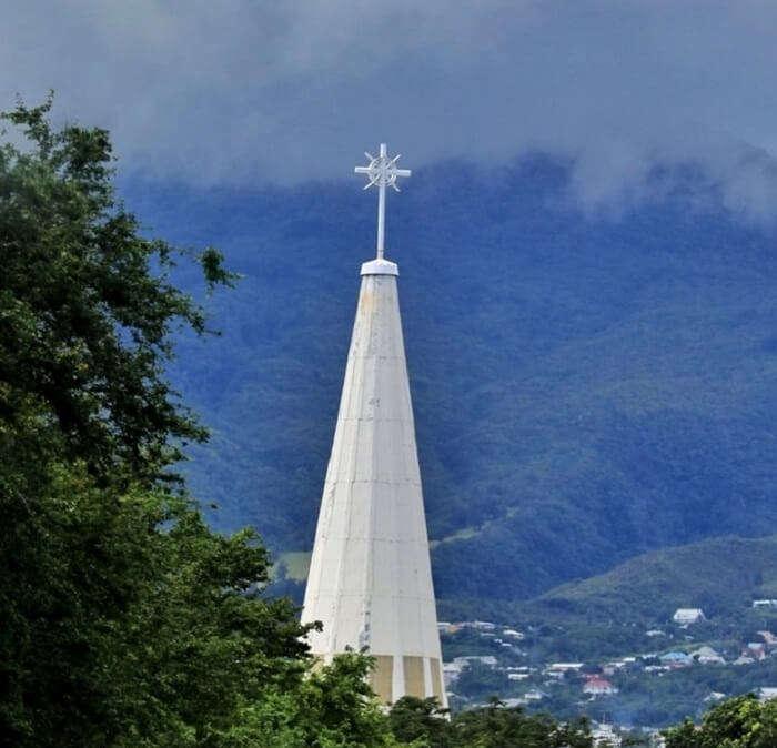 St. Pierre in Reunion Island, France