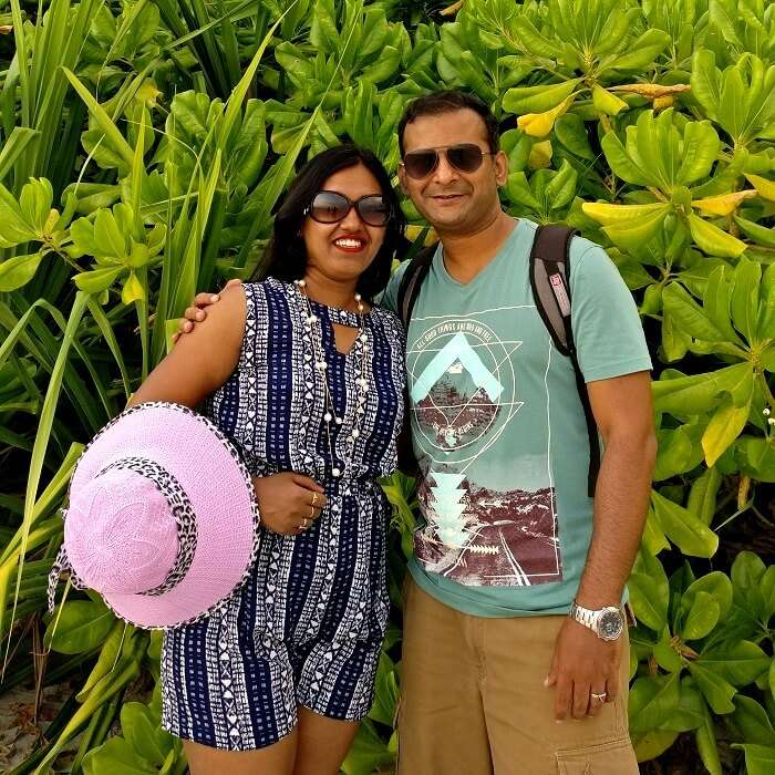 couple in Andaman