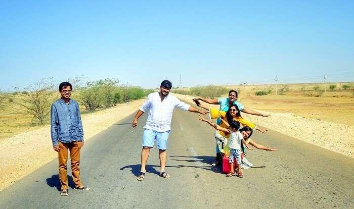 road trips in jaisalmer