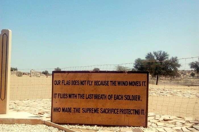 remembering war heroes in longewala