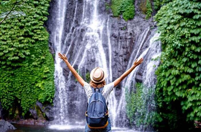 solo female traveler in Bali