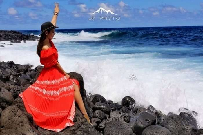 solo traveler in Reunion Island, France