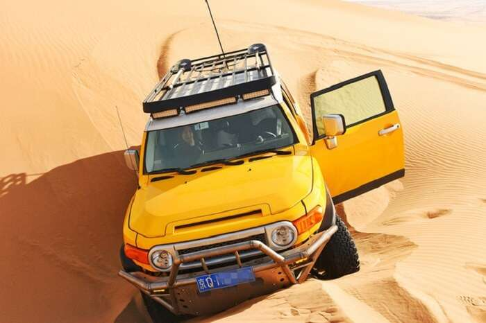 desert tour in mongolia