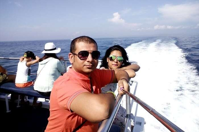 cruise travel in Bali